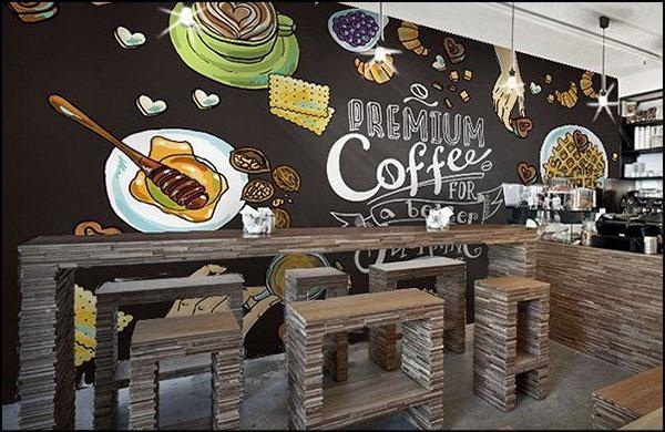 cung cap giay dan tuong cafe tai hai phong