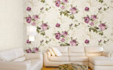 ưu điểm giấy dán tường so với sơn
