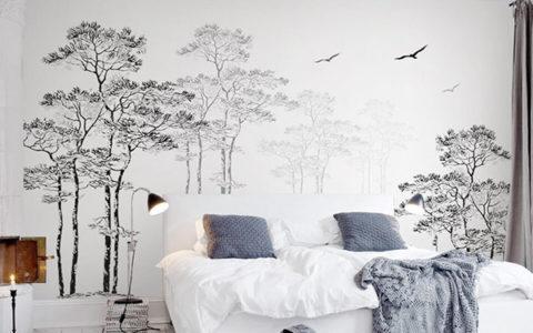 giấy dán tường phòng ngủ giá rẻ tại Hải Phòng