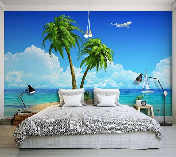 mua tranh dán tường 3d phòng ngủ ở hải phòng