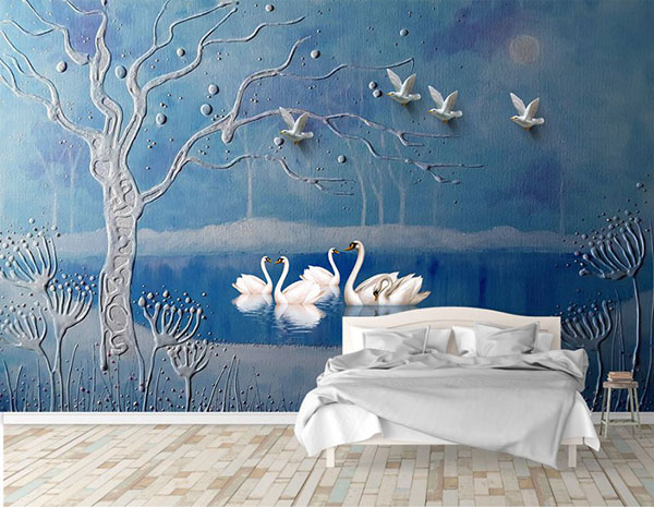 tranh 3d phòng ngủ giá rẻ tại hải phòng