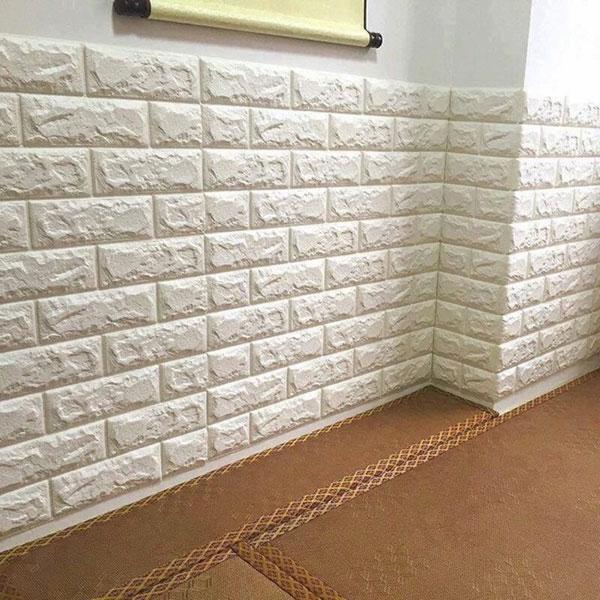 xốp dán tường 3d gia gạch tại hải phòng