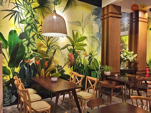 tranh 3d độc đáo trang trí quán cafe hải phòng