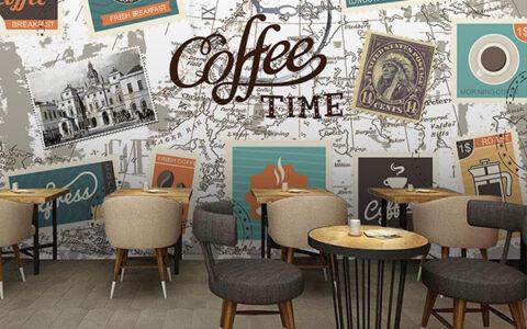tranh 3d trang trí quán cafe hải phòng