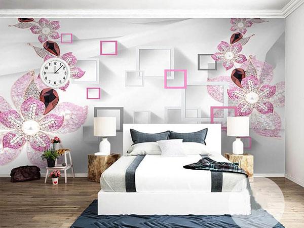 vì sao nên sử dụng tranh 3d dán tường phòng ngủ