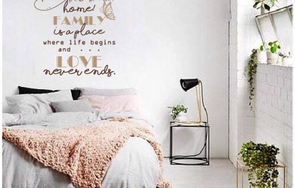 Lưu ý khi chọn tranh dán tường 3d cho phòng ngủ