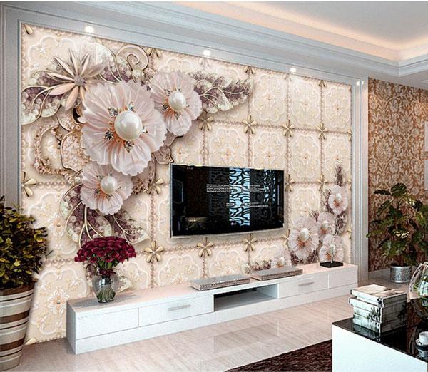 Lưu ý khi mua tranh dán tường 3D cho phòng khách