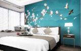 Những lưu ý khi chọn tranh dán tường 3d cho phòng ngủ