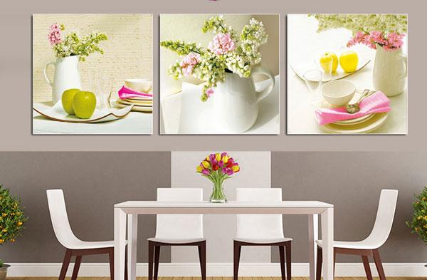Những lưu ý khi treo tranh dán tường 3D cho phòng bếp