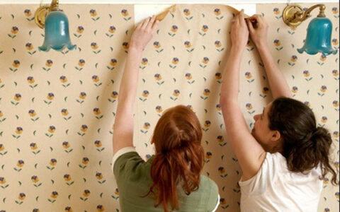 cách gỡ bỏ giấy dán tường