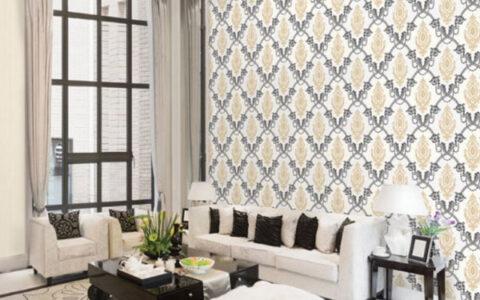 lựa chọn giấy dán tường phù hợp với từng không gian ngôi nhà